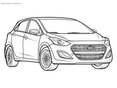 Легковой автомобиль Hyundai